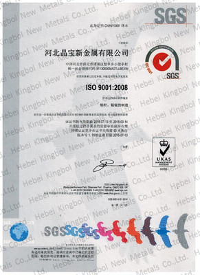 ISO 9001:2008 中文